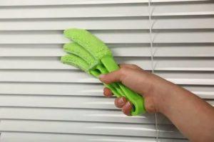 Как мыть жалюзи горизонтальные алюминиевые