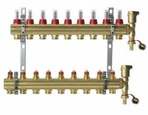 Для чего предназначена распределительная гребенка системы отопления
