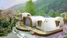 Дом из пенопласта Япония