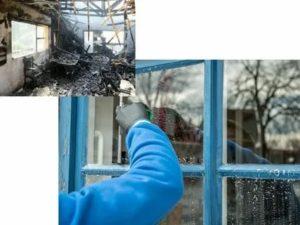 Как отмыть пластиковые окна от сажи