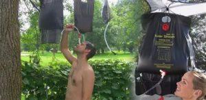 Переносной душ: описание 3-х наиболее популярных вариантов