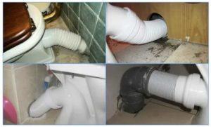 Соединение унитаза с канализацией – рассматриваем ключевые методики