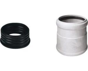 Переходники для канализационных труб и их виды