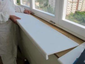 Реставрация пластиковых подоконников своими руками