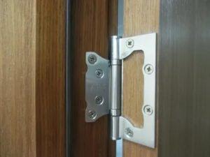 Дверные петли без врезки установка