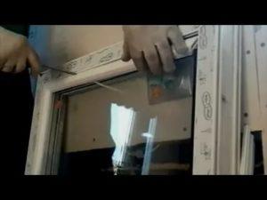 Установка глухого пластикового окна своими руками