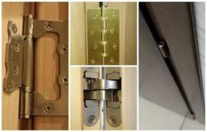 Установка навесов на межкомнатные двери