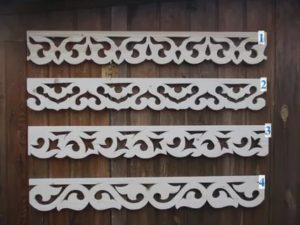 Прорезные наличники на окна шаблоны