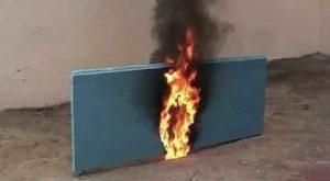 Пеноплекс горючий или нет
