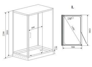 Душевая кабина 70 на 70 – основные разновидности конструкций и особенности их выбора