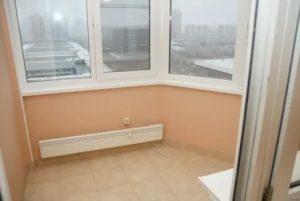 Утепление балкона п44т