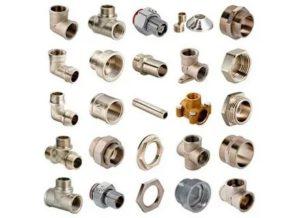 Фурнитура для труб: основные разновидности и особенности применения
