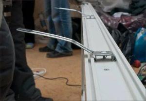 Крепление пластиковых окон на анкерные пластины