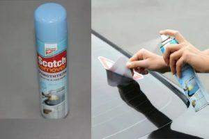 Чем отмыть скотч от пластикового окна