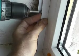 Как отделать окна пластиком внутри