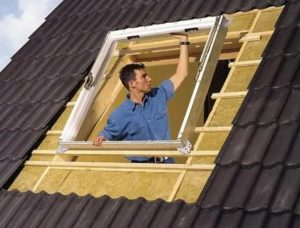 Окно в крыше мансарды своими руками
