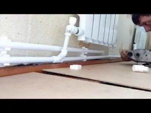 Как сделать самому монтаж отопления из металлопластиковых труб