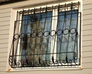 Решетки на окна открывающиеся изнутри