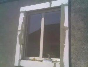 Наличники на окна из пенопласта своими руками