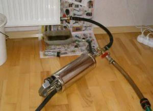 Мойка радиатора: гидропневматическая, гидродинамическая, пневмоимпульсная, химическая, ручная промывка, наружная чистка