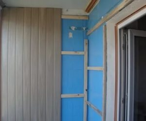 Обшивка балкона МДФ панелями своими руками