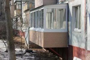 Как узаконить пристроенный балкон на 1 этаже