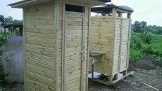 Деревянный душ для дачи: самостоятельное строительство