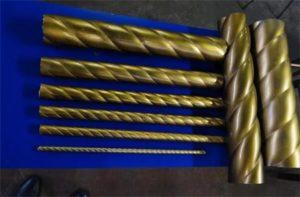 Витая труба: изготовление и область применения