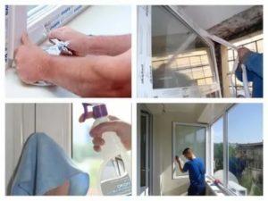 Как очистить пластиковые окна от скотча