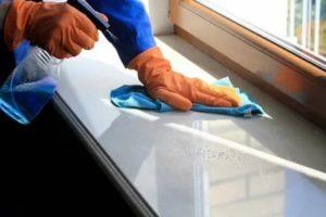 Чем очистить пластиковый подоконник после ремонта
