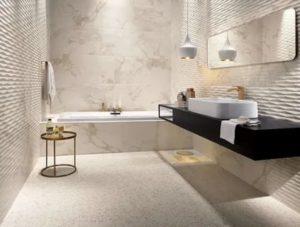 Что такое лаппатированная плитка и зачем она в ванной