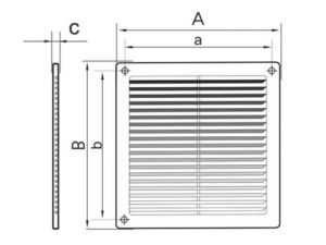 Какие бывают регулируемые решетки для вентиляции