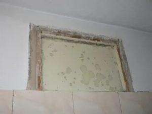 Как заделать окно в ванной в хрущевке