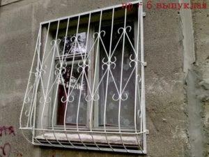 Решетка на окно своими руками без сварки