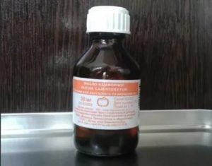 Глицерин и нашатырный спирт для окон