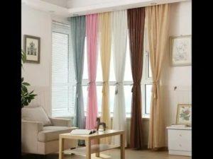 Как красиво повесить занавески на окнах
