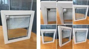 Пластиковые окна с жалюзи внутри стеклопакета