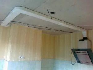 Как установить вентиляционный короб на кухне: нюансы работ