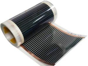 Инфракрасная пленка для отопления – устройство и особенности