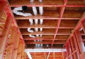 Вентиляция в каркасном доме – особенности обустройства