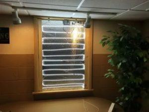 Фальш окно с подсветкой своими руками