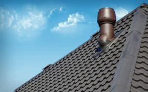 Выход вентиляции для металлочерепицы – предназначение и монтаж