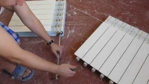 Замена радиаторов: резьбовое соединение и сварка, замена секций, экономическая эффективность