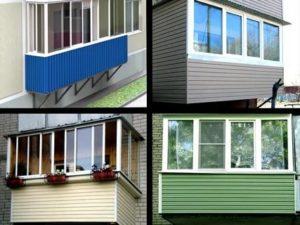 Чем лучше обшить балкон снаружи