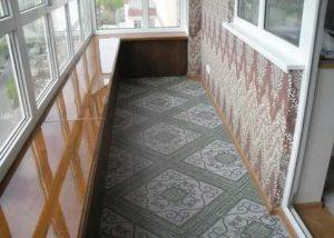 Отделка балкона плиткой за и против