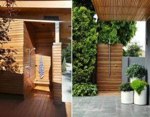 Летний дачный душ – варианты обустройства