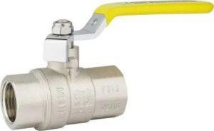 Шаровой газовый кран и его особенности