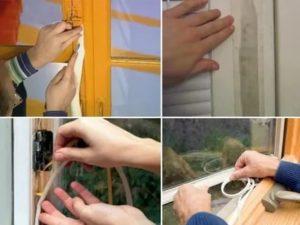 Чем заделать пластиковые окна чтобы не дуло