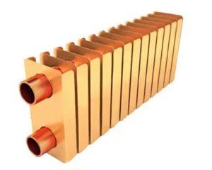 Медные радиаторы отопления: особенности, технические характеристики и порядок монтажа