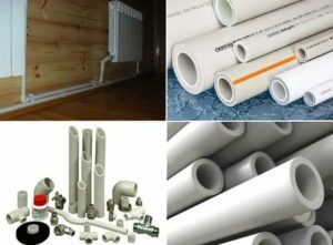 Армированные полипропиленовые трубы для отопления: выбор и применение